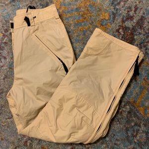 Tan Roxy Snow Pants